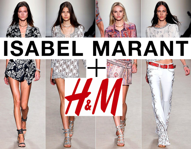 The Isabel Marant for H&M collection is quintessential Marant: masculine tailoring, strong shoulders and cocooning cuts in jackets and coats, loose blouses, airy dresses, and textured knits.