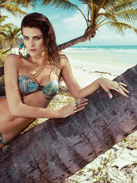 Isabeli Fontana for Morena Rosa 2013 Beachwear Catalog