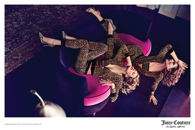 Juicy Couture Fall Campaign