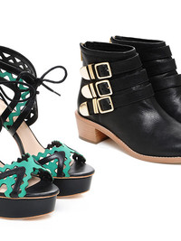 Loeffler Randal Shoes for Pre-Fall 2013