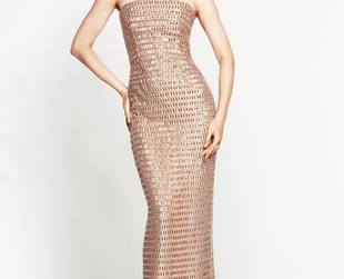 Take a glimpse at the fabulous new offerings from Monique Lhuillier's new collection for resort 2014.