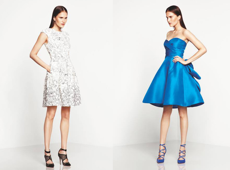 Monique Lhuillier Resort 2014 Collection