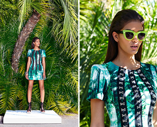A lush paradise inspires this month's Nasty Gal lookbook. Check it out!