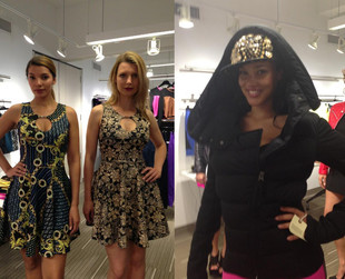 The first looks from Nicki Minaj's upcoming fashion line for Kmart have been unveiled! Have a look!