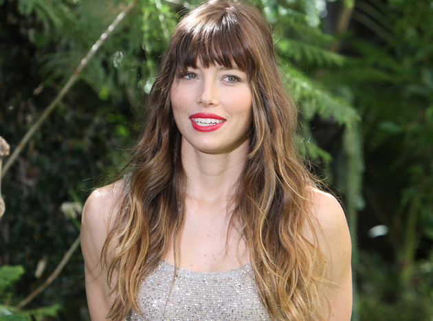 Ombre Highlights: Jessica Biel's Ombre Hair Color
