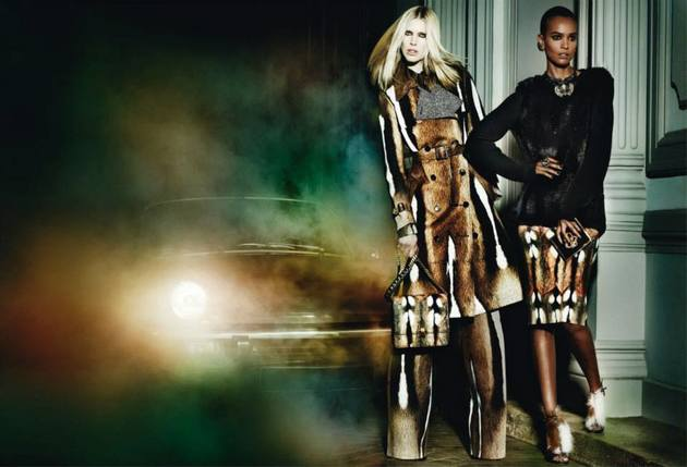 Looks From Roberto Cavalli's Fall 2013 Ads