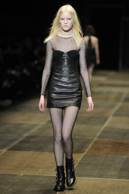 Saint Laurent Fall 2013 Collection Look 4