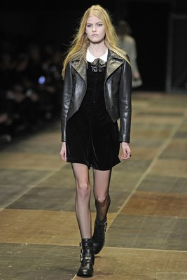 Saint Laurent Fall 2013 Collection Look 5