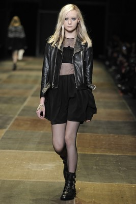 Saint Laurent Fall 2013 Collection Look 9