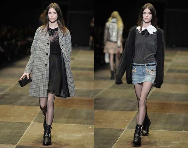 Saint Laurent Fall 2013 Collection