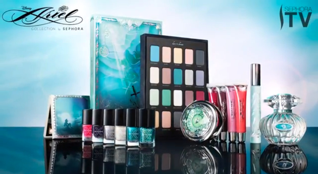 Sephora Disney Ariel 2013 Collection