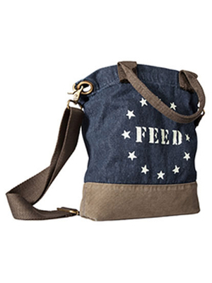 Feed Usa Target Crossbody Bag