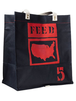 Feed Usa Target Reusable Bag