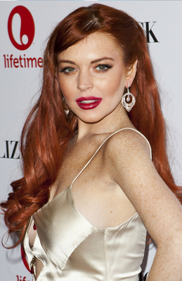 Famous Redhead Actresses   Lindsay Lohan