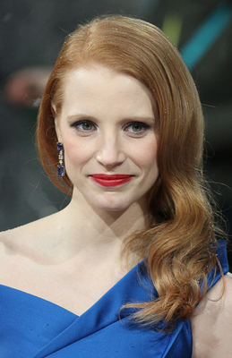 Famous Redheads  Jessica Chastain