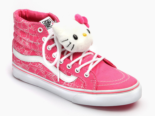 Hello Kitty Vans Sk8 Hi Sneakers