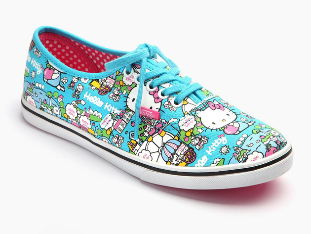 Hello Kitty Vans Lo Pro Blue Sneaker