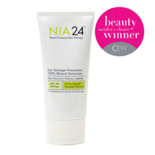 Nia24 Sun Damage Prevention 100  Mineral Sunscreen