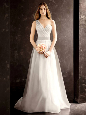 Vera Wang David's Bridal Fall 2013 Look 1
