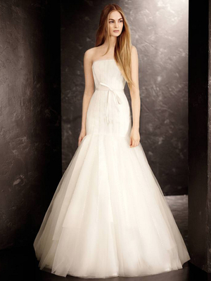 Vera Wang David's Bridal Fall 2013 Look 3