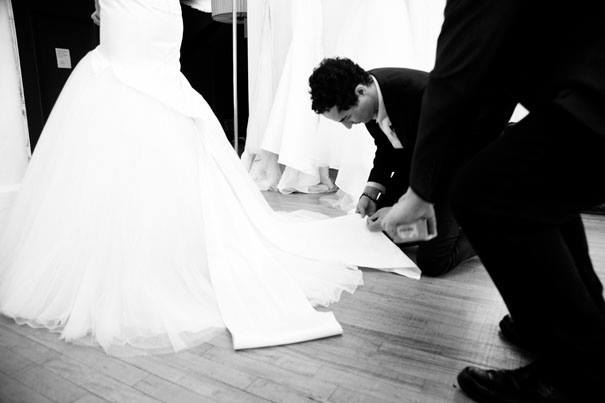 Zac Posen David's Bridal 2014 Wedding Line