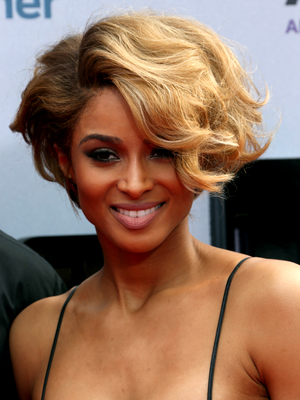 Ciara Culry Wedge Bob Hairstyle