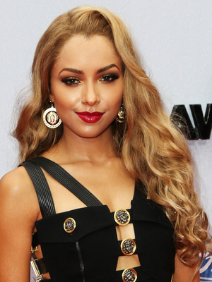 Kat Graham Blonde Loose Curls