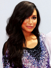 Naya Rivera Side Swept Waves