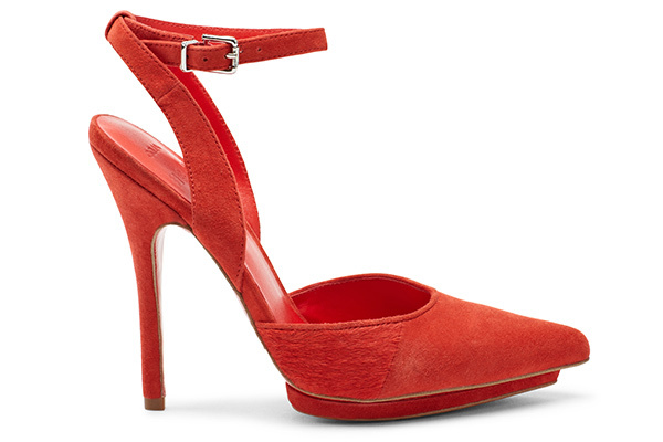 Aldo Preen Fall 2013 Red Shoes