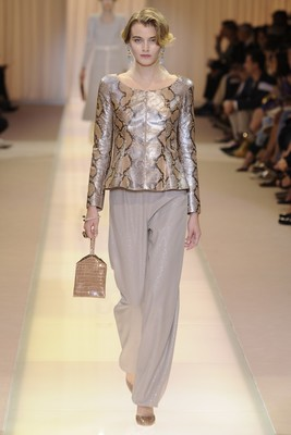 Armani Privé Couture Fall 2013 Look 3