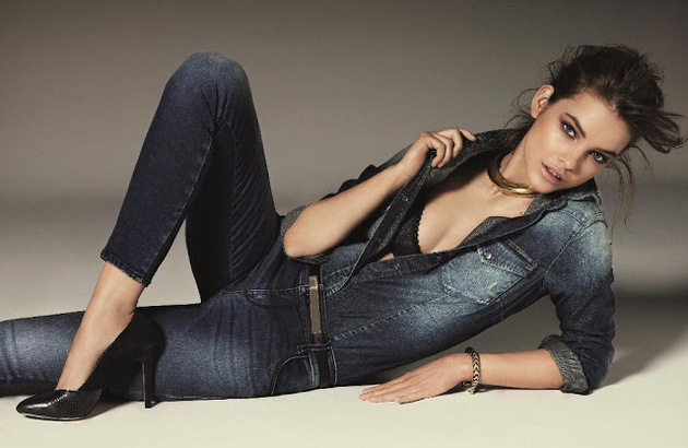 Barbara Palvin Gas Jeans Fall 2013 Ad Campaign