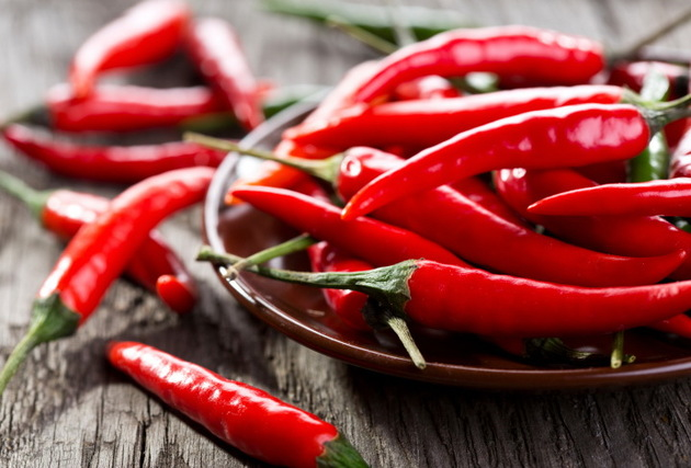 Chili Pepper For Burning Fat