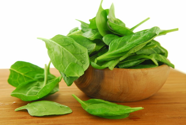 Spinach For Radiant Skin And Hair