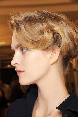 Armani Prive Fall 2013 Couture Hair