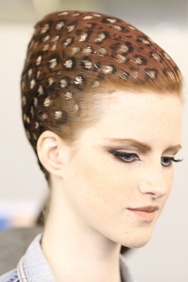 Jean Paul Gaultier Fall 2013 Couture Hairstyles