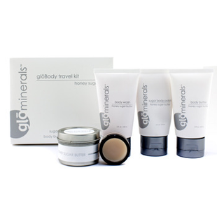Glo Minerals Glo Body Travel Kit   Honey Sugar Butter