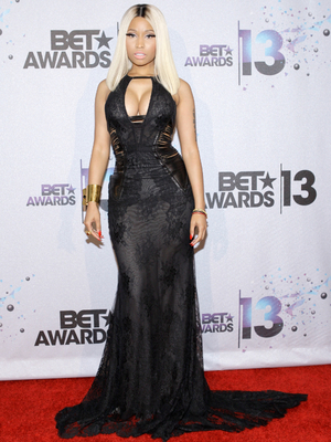 Nicki Minaj John Hardy Long Black Gown