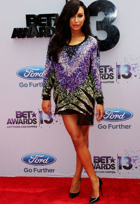 Naya Rivera Emilio Pucci Sequin Dress