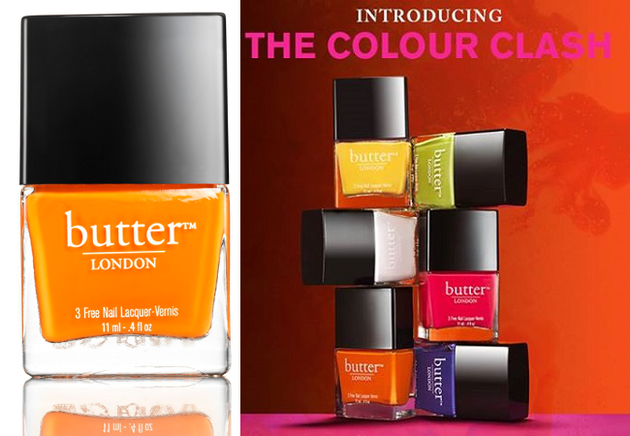 Butter London Colour Clash Fall 2013 Collection