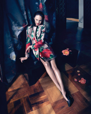Blumarine Fall Winter 2013 Campaign Look  (5)
