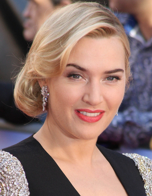 Kate Winslet's Blonde Hair And Dark Eyebrows