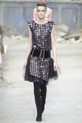 Chanel Couture Fall 2013 Look 40