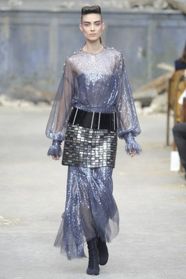 Chanel Couture Fall 2013 Look 66