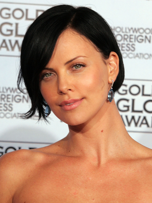 Charlize Theron Aeon Flux Bob Hairstyle