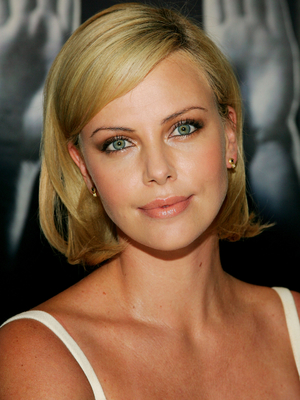 Charlize Theron Chin Length Bob