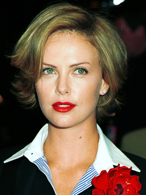 Charlize Theron Short Bob Haircut