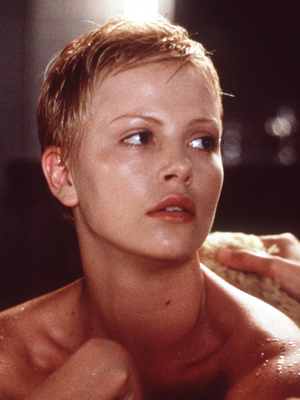Charlize Theron Short Pixie Hairstyle From 1999