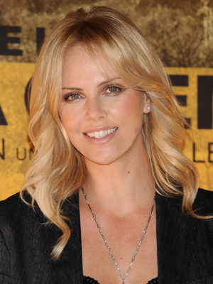 Charlize Theron Wavy Layered Hairstyle