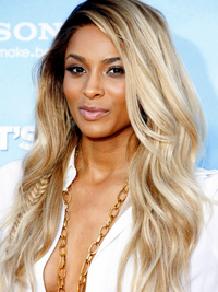 Ciara Blonde Hair Highlights
