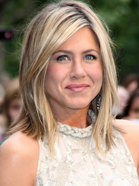 Jennifer Aniston Blonde Hair Highlights